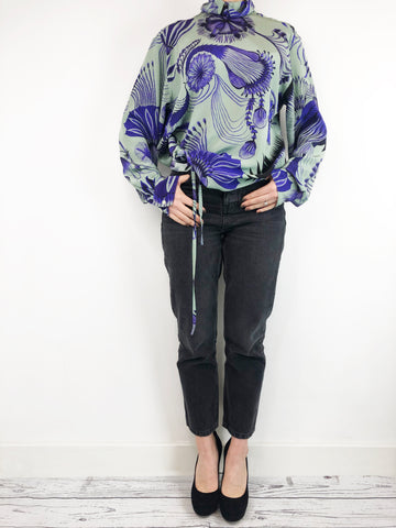 Dries Van Noten Silk Blouse Size 8