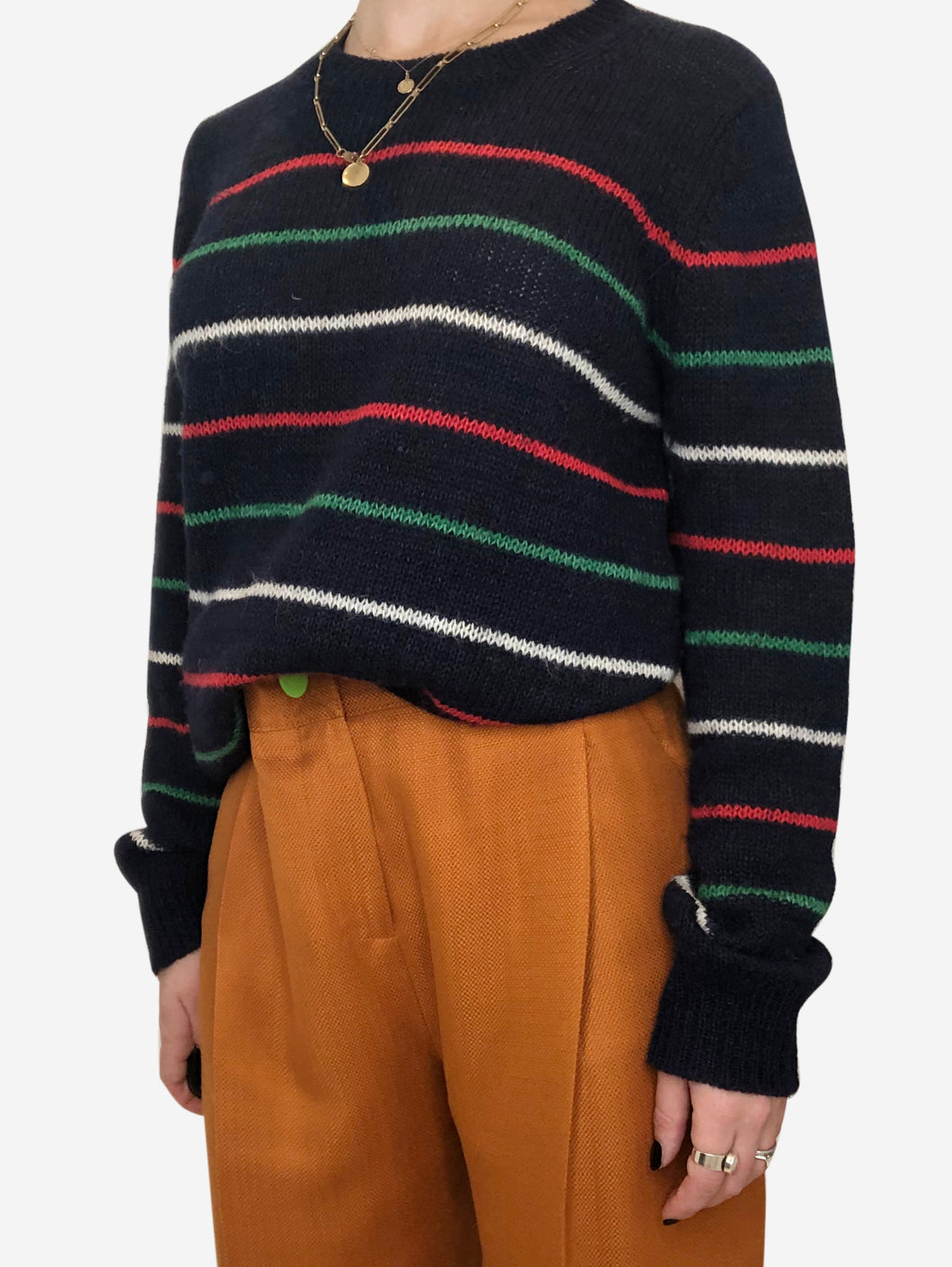 Navy, green and red Isabel Marant Etoile Sweaters, 14