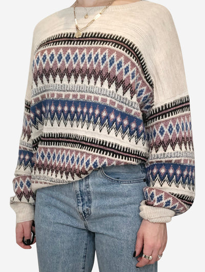 Beige, Pink, Blue and Black Isabel Marant Etoile Sweaters, 8