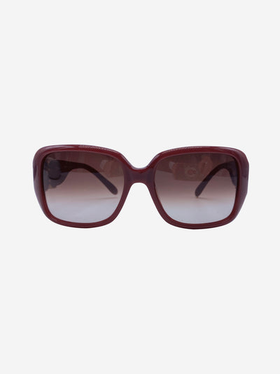 Burgundy CL2239 square sunglasses
