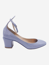 Load image into Gallery viewer, Tango grey patent-leather Mary Jane block heel pumps - size EU 38