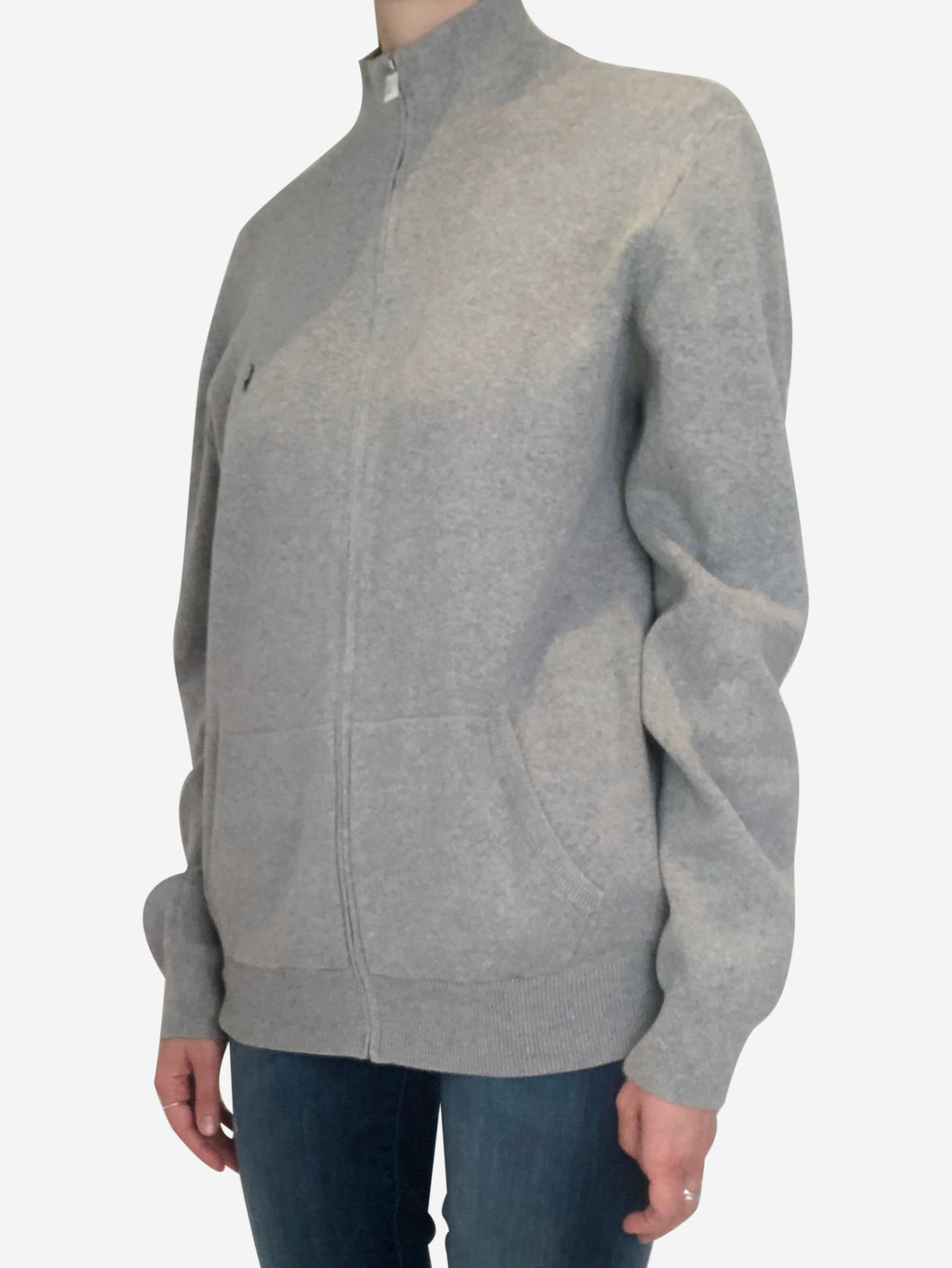 Grey Ralph Lauren Cardigan, M