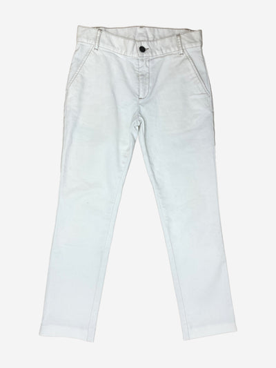 White high waisted jeans - size UK 6