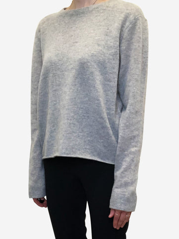 Grey cashmere sweater - size S