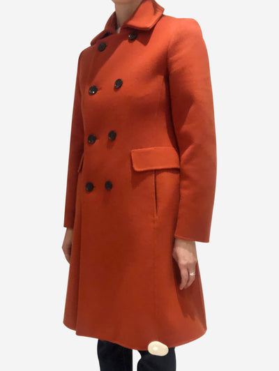 Orange Max Mara Coats, 6