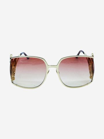 Gold and pink Philipp Plein Sunglasses