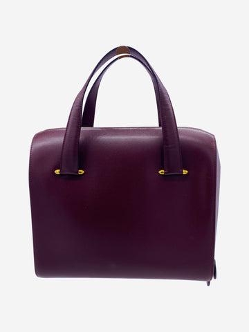 Burgundy Cartier Handbag