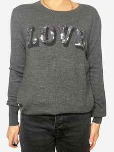 Markus Lupfer Grey sweater with