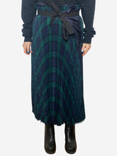Load image into Gallery viewer, Green and Navy Comme Des Garçons Dresses, 10