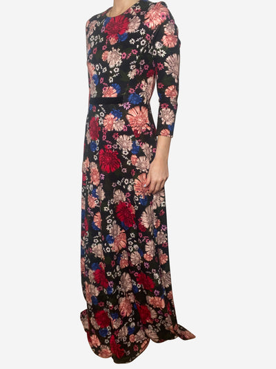 Raine floral maxi dress - size UK 12