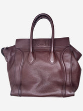 Load image into Gallery viewer, Brown Micro luggage tote bag