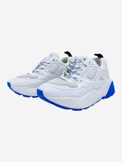 Eclypse white and blue chunky trainers - size EU 40