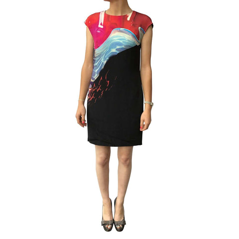 Mary Katrantzou Silk Shift Dress size 10