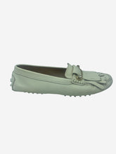 Load image into Gallery viewer, Cream Leather Loafers - size EU 38.5