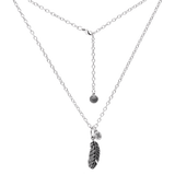 Kette Feather- Cable Chain