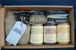 A gift box containing gloves, twine and much more from Nutscene