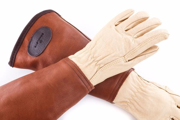 Bradley's Heritage Leather Anti-Bramble Gauntlets