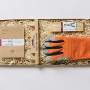 No. 11 Gardener's Gift Set - Donkey Gloves, Seed Tray Dibber, Seed Envelopes and Labels
