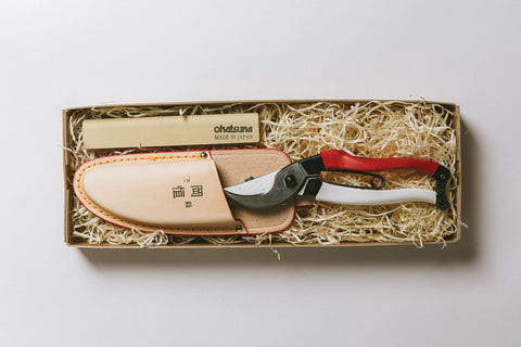 No. 13 Gardener's Gift Set - Secateurs, Holster and Whetstone