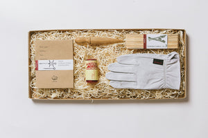 No. 10 Gardener's Gift Set - Gloves, Seed Envelopes, Twine, Dibber and Labels