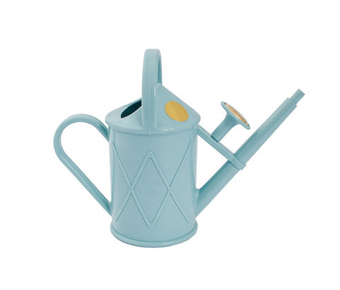Haws Heritage 1l Indoor Plastic Watering Can in Duck Egg Blue