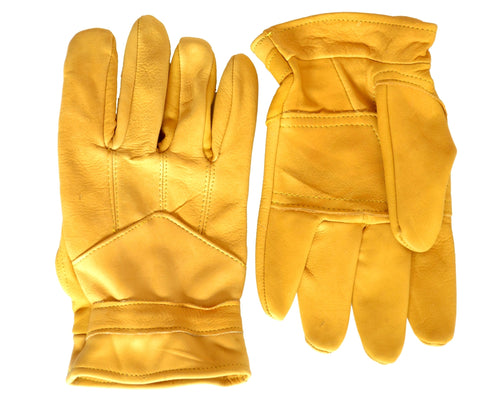 Pittards Tan Leather Gardening Gloves