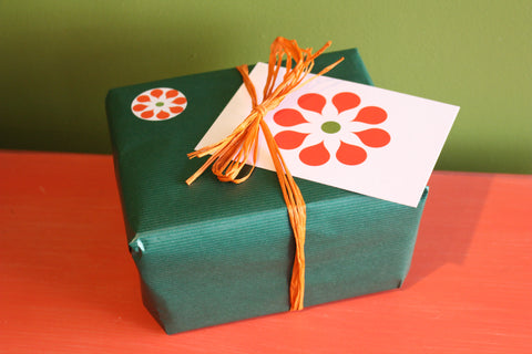 The Wonderful Garden Company Gift Wrap
