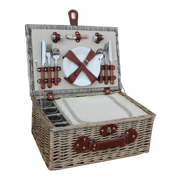 Willow 4 Person Chiller Picnic Basket