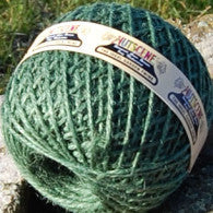 Nutscene large ball of green jute garden twine - 130m