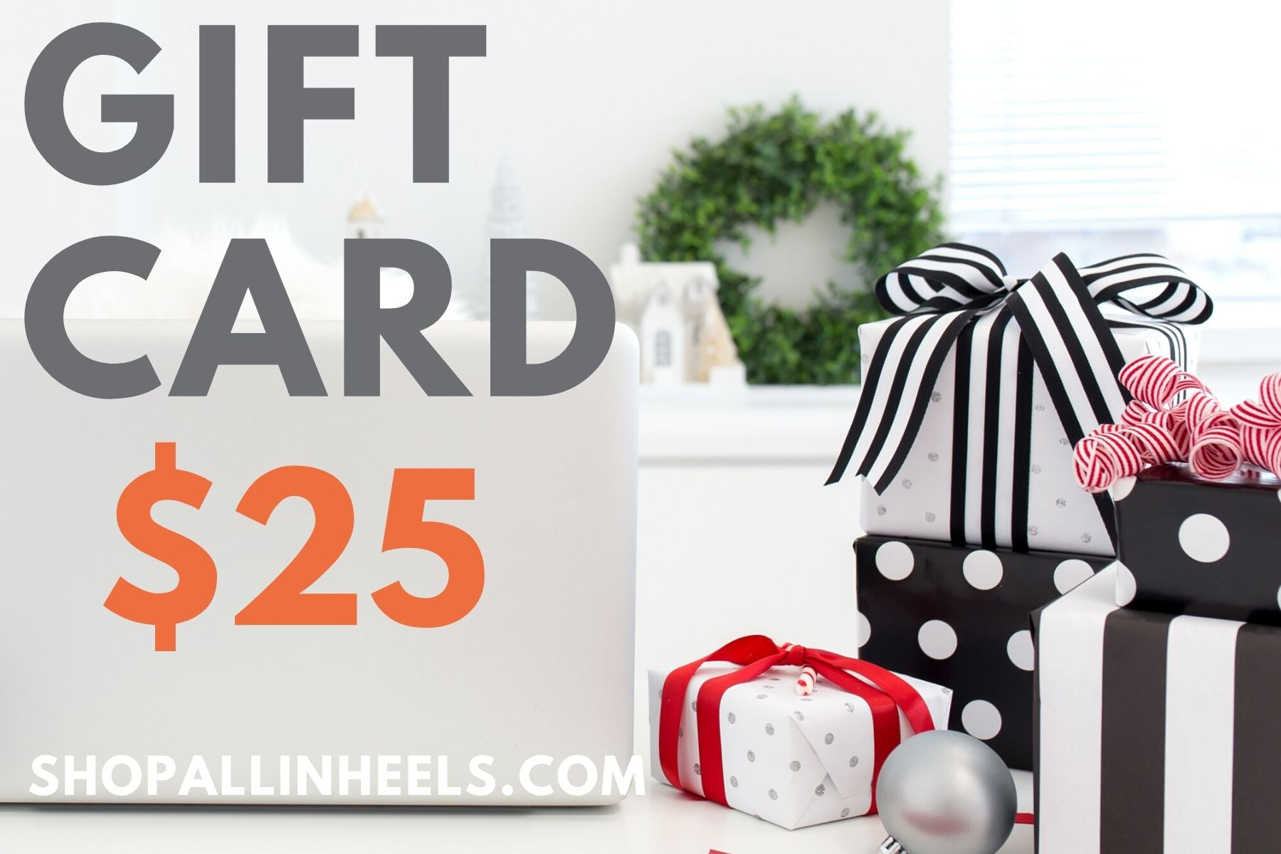 All in Heels Gift Card