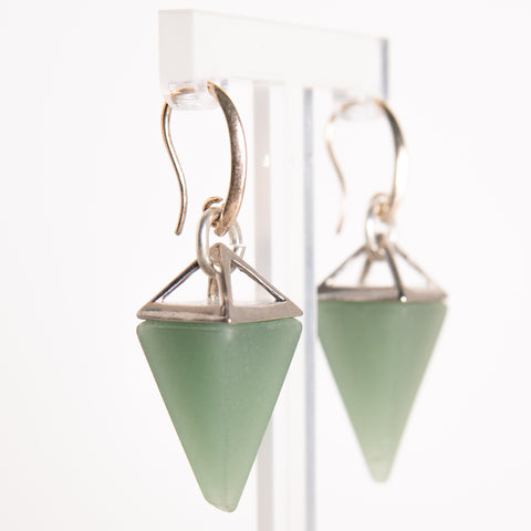 Pyramid Earrings