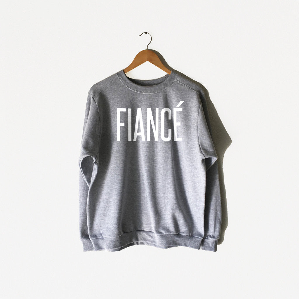 Women's Fiancé Sweatshirt in Heather Grey