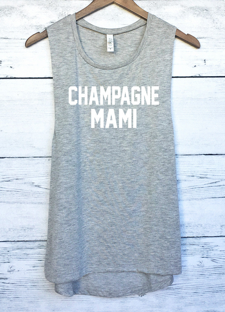 14d32d75d5218 Champagne Mami Drake Muscle Tank Top – Bittersweet