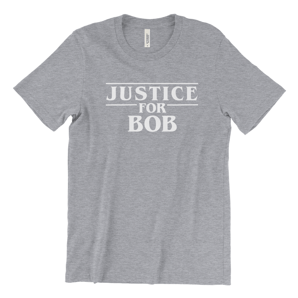 Justice for Bob Shirt - Stranger Things Show Official Tee Shirt