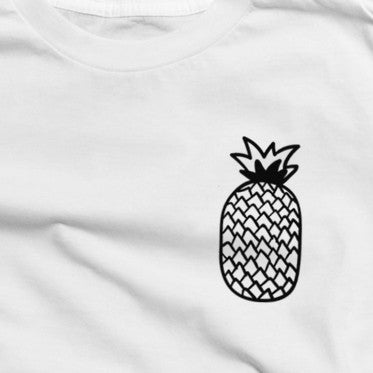 Pineapple T-Shirt in White