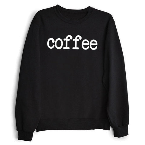 The Original Coffee Sweatshirt in Black for Women