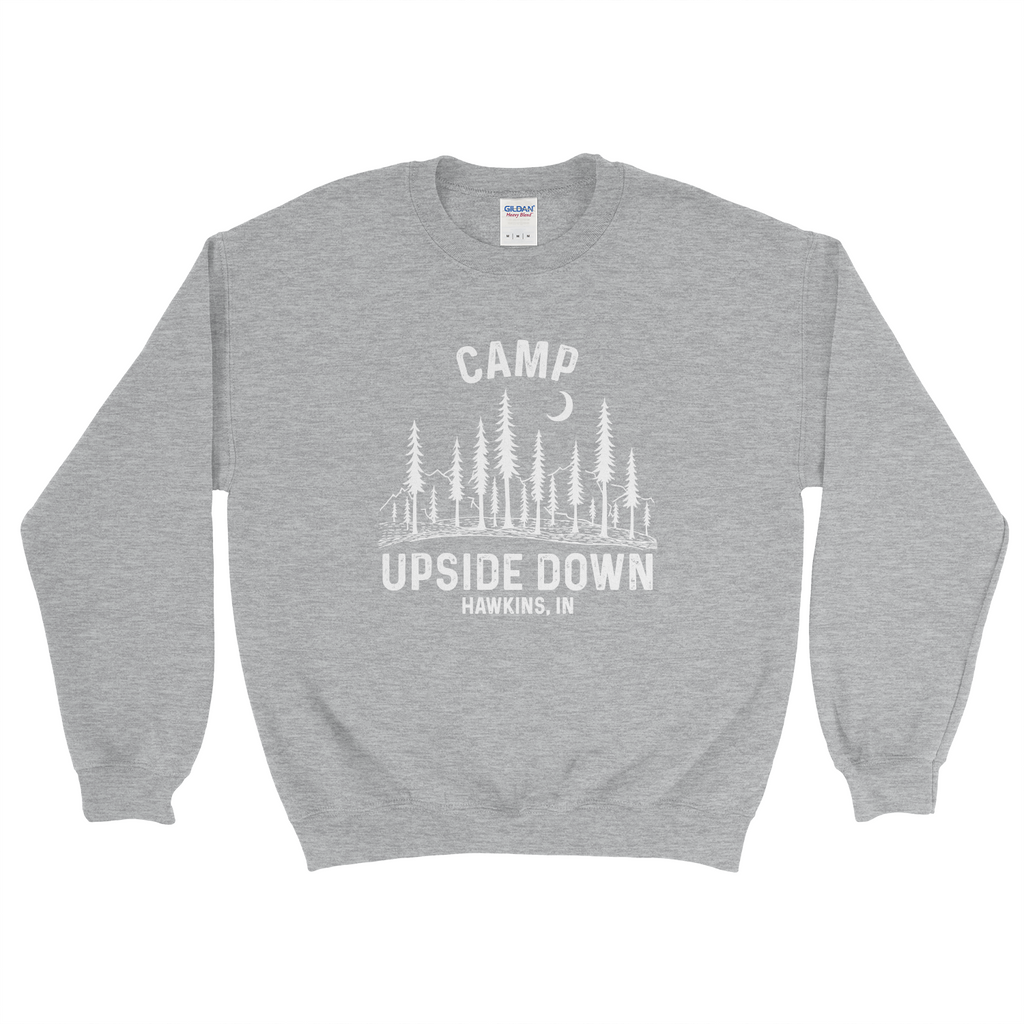 Stranger Things Camp Upside Down Hawkins Adult Sweatshirt