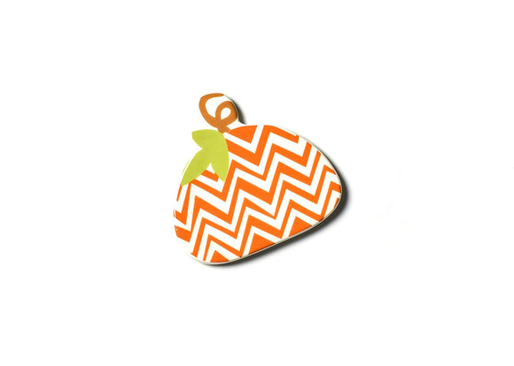 HAPPY EVERYTHING CHEVRON PUMPKIN MINI ATTACHMENT