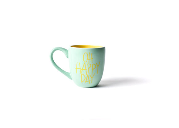 HAPPY EVERYTHING MINT OH HAPPY DAY MUG