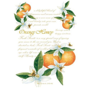 ORANGE AND HONEY SCENTED SACHET