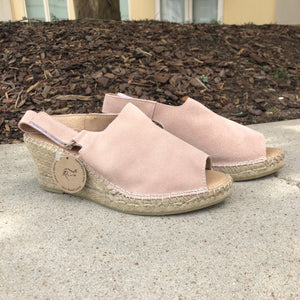 ROSA SUEDE WEDGES