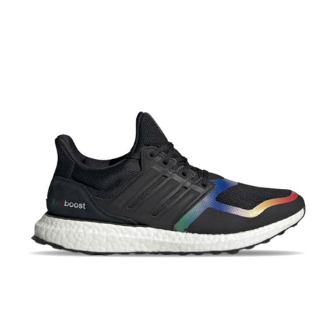 ADIDAS ULTRABOOST DNA SHOES Core Black - Red FV7015