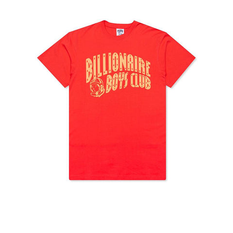BILLIONAIRE BOYS CLUB BB ARCH SS TEE CAYENNE 801-2207