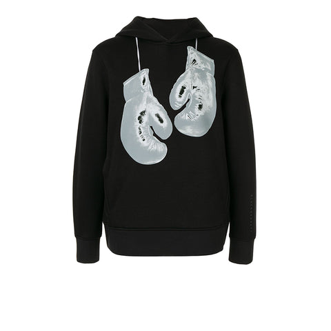 BLACKBARRETT BLACK-WHITE GLOVE HOODIE 1CHXJS904