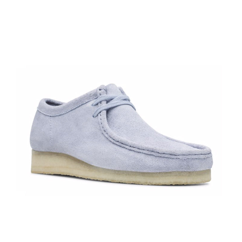 new concept e67f9 e818c CLARKS WALLABEE COOL BLUE 26140971  CLARKS WALLABEE COOL BLUE 26140971 ...