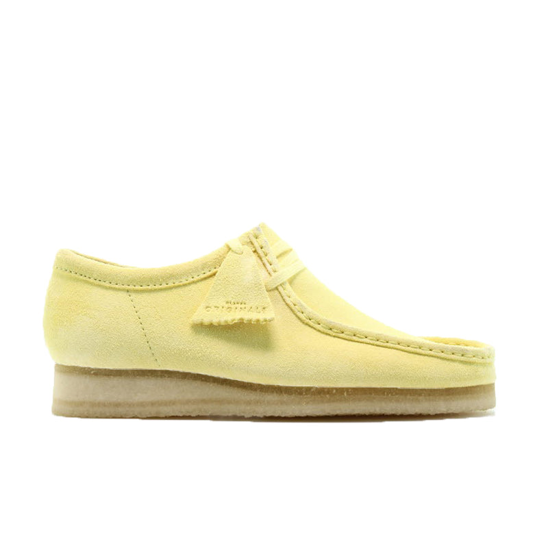 CLARKS WALLABEE YELLOW 26139180