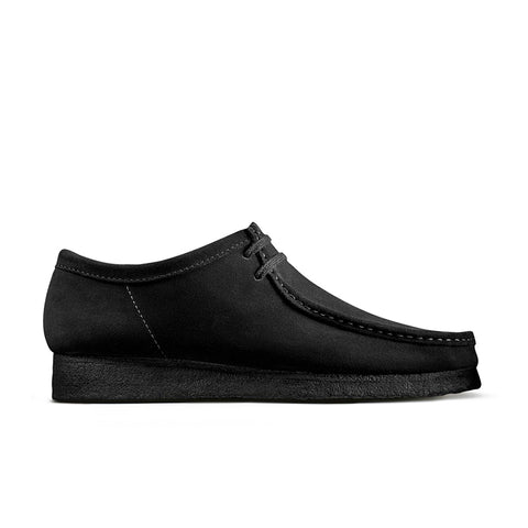 CLARKS Wallabee Black Suede 26133279