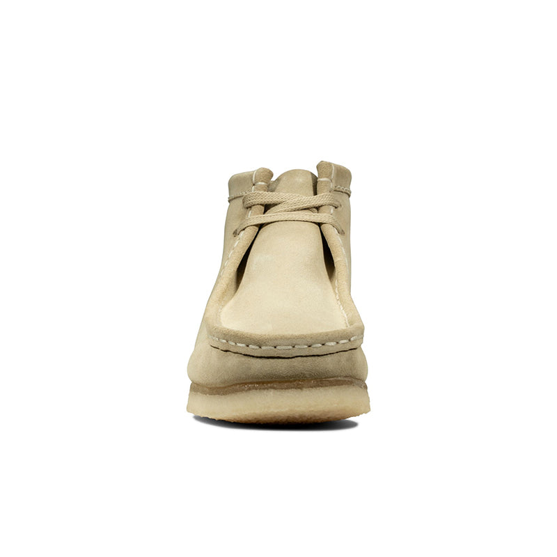NEW MEN/'S CLARKS WALLABEE BOOT MAPLE SUEDE CL1 26133283