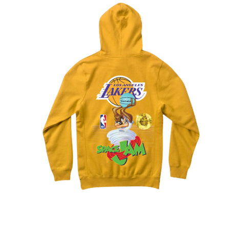 DIAMOND X SPACE JAM LOS ANGELES LAKERS HOODIE - GOLD A20DMPF205