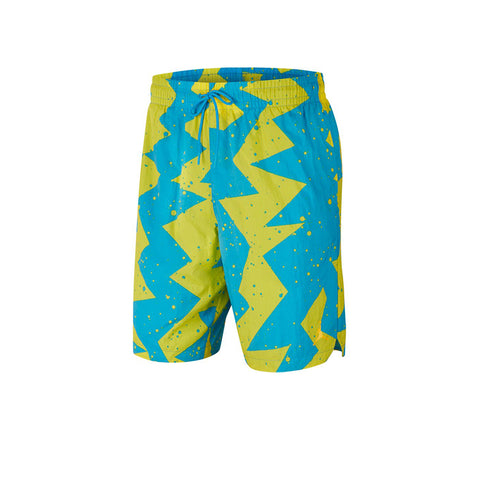 Jordan Men's Jumpman Poolside Shorts BLUE-YELLOW CJ4701-446
